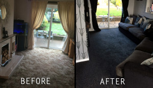 Before and After Carpet