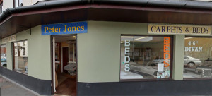 Peter Jones Carpets and Beds Shop